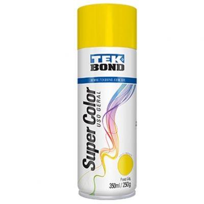 Tinta Spray Amarelo Tekbond 350ml