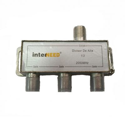 Divisor Antena 1:3 900 a 2050 Mhz Interneed