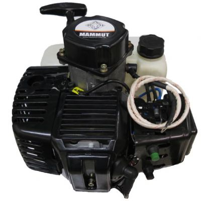 Motor 2t c/ Caixa Transmissão Mammut 52cc c/ Part Eletr