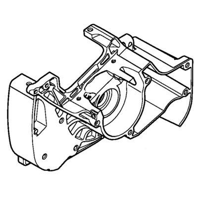 Carcaça do Virabrequim Lado Ventilador Ms382