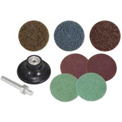 Disco de Lixa/ Esponja 50mm jg 9pcs - Vonder