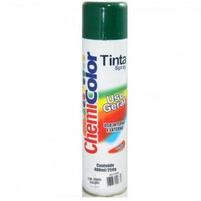 Tinta Spray Verde Escuro Chemicolor 400ml