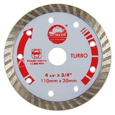 Disco Diamantado 110mm Turbo Worker