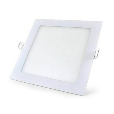 Luminaria de Embutir Quad Branca Led 18w 6500k 205x205 Blumenau