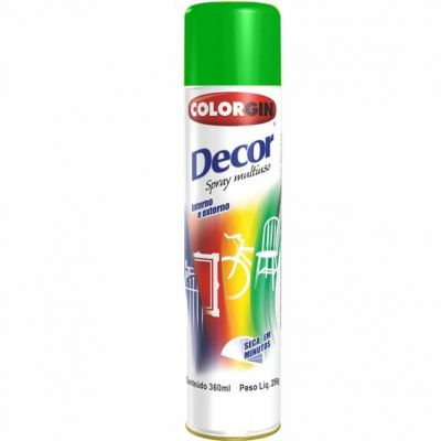 Tinta Spray Verde Decor 360ml