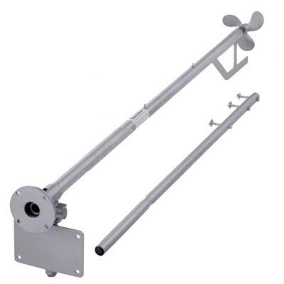 Rabeta Longa Aço 5,5/6,5hp 2,2mt c/ Kit Adapt (simples)