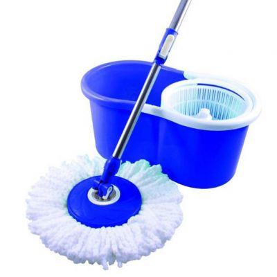 Mop Balde 360 Cor Azul c/ Esfregao