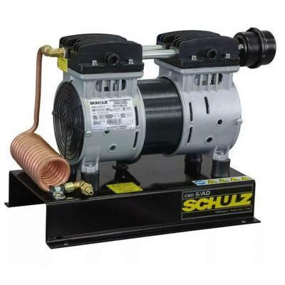 Compressor ar 1hp Csd-5 ar Direto c/ Serpentina (odontologico)