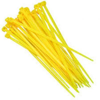 Abraçadeira Nylon 150x3,6 Amarela (30pçs)