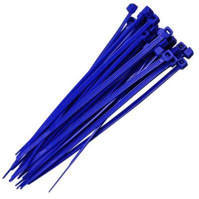 Abraçadeira Nylon 190x3,4 Azul (30pçs)