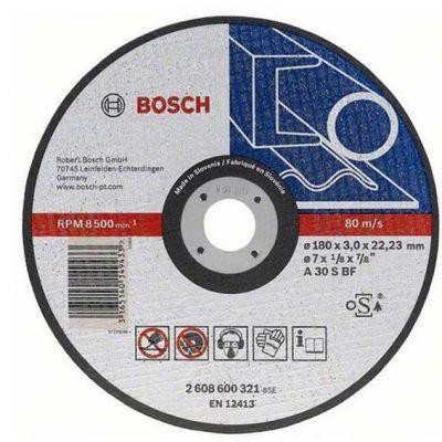 Disco Corte Aço/inox 115x1,0x22,2 Bosch